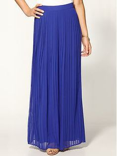Sabine Pleated Maxi Skirt  {Piperlime}