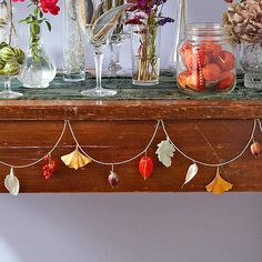 Decorate your home for the season with these easy fall crafts you can make in a pinch: http://www.bhg.com/thanksgiving/crafts/simple-fall-crafts/?socsrc=bhgpin101414easyfallcrafts&page=4