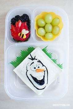 A Frozen Bento: In Summer!!! - Packed with @EasyLunchboxes