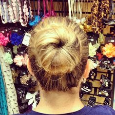 We used our Bun Ring ($3.99) to create the perfect party-ready bun. Check out our pinterest.com/... for the full tutorial. #rue21 #sockbun #hair