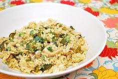 green poblano, food, rice arroz, arroz verd, eat, green chile, chicago, chile rice, poblano rice