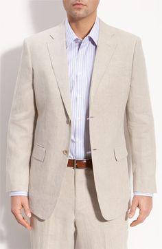 For the Groom: John W. Nordstrom® Linen Sportcoat @Nordstrom #Nordstrom