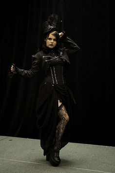 More goth than steampunk to me...