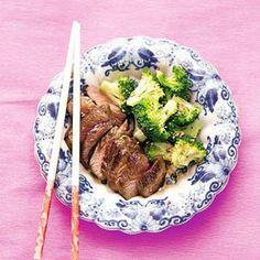 Recept - Rundvlees teriyaki met sesam-broccoli - Allerhande