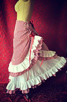 Victorian Circus Skirt