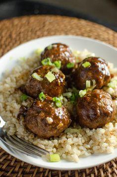 saucy asian meatballs :)
