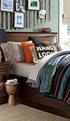 bedding, idea, color, pbteen, quilts, maddox quilt, pottery barn, boy room, teen boy bedrooms