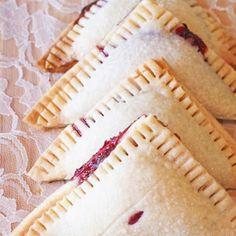 Raspberry hand pies {Gluten-Free, Vegan}