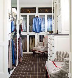 organized men's closet