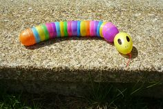 Here is something to do with all the leftover eggs: Easter Egg Rattlesnake