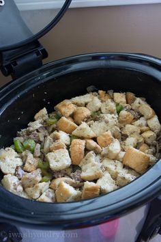 Crock Pot Sausage Stuffing. ...I have used crockpot dressing recipe at Thanksgiving for years not with sausage but will def try.