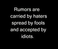 A succinct truth