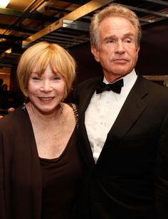 Shirley MacLaine and her brother Warren Beatty