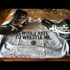 Cool shirt #wrestling