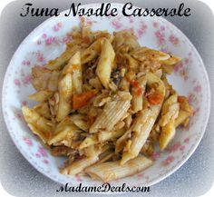 What's For Dinner: Tuna Noodle Casserole #recipes #inspireothers