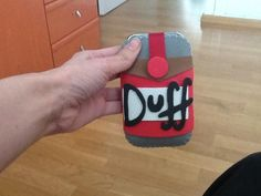 Funda para movil cerveza Duff con goma eva/ Duff Beer Mobile Case with Foam Rubber