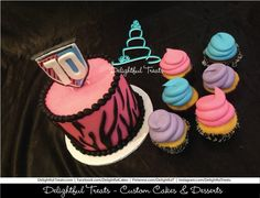 Monster High Birthday Cake and Cupcakes by Delightful Treats Delightful Treats | #Monster #High #Birthday #Cake #Cupcakes #MonsterHigh #MonsterHighCake #Orlando #CustomCakes