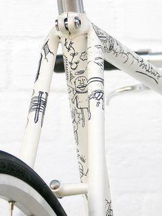 illustrated bikes*
