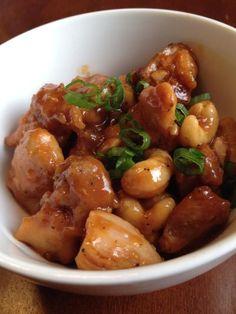 Paleo Crockpot Cashew Chicken