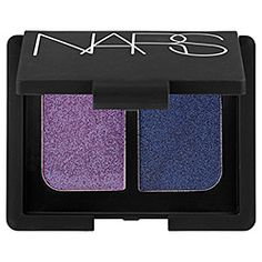 NARS Due Eye Shadow in Marie-Galante-iridescent orchid/ iridescent regal blue #SephoraColorWash