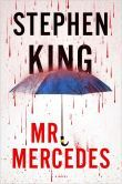 """Mr. Mercedes by Stephen King - In a distressed city, hundreds of unemployed are lined up for a job fair. A driver plows through the crowd in a stolen Mercedes, running over the innocent, backing up, & charging again. 8 people are killed; 15 wounded. The killer escapes. Months later, a retired cop named Bill Hodges is haunted by the crime. When he gets a letter from the """"perk"""" who threatens an even harsher attack, Hodges wakes from his retirement, hell-bent on preventing another tragedy."""