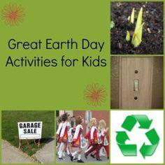 Great #EarthDay #Activities for #Kids #green
