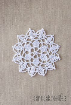 lace motif, doili motif, crochet doilies
