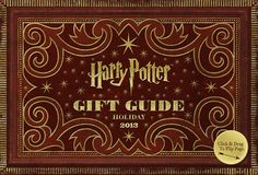 Harry Potter GIFT GUIDE for 2013! Includes Marauder's Map leggings! #HP #HarryPotter