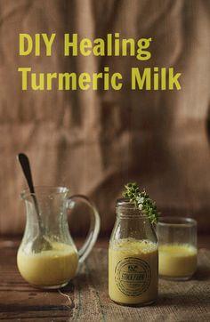 How to Make a Healing Turmeric Milk