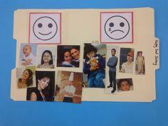 happy faces, desert crafter, file folder games, clip art, magazines, people, feelings, deserts, file folders
