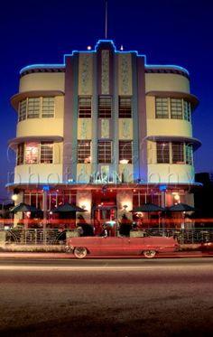 1930's Art Deco architecture (Miami Beach, FL)