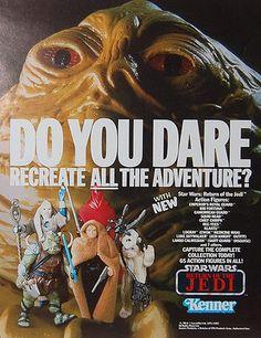 Vintage Star Wars Action Figure Ad