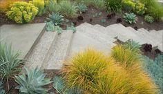concrete steps garden