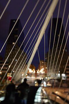 Puente de Calatrava. Bilbao. Bizkaia. © Inaki Caperochipi Photography