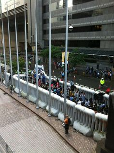 """Quoting my friend Daisann, """"Is this the ultimate kettle? In Hong Kong, July 1st pro Democracy marchers are forced into a """"protest area"""". Yes, they are using pepper spray. The technology and tactics of state violence are globalized now, in police departments from NY to HK"""""""