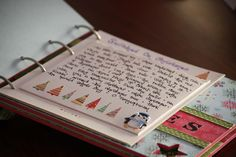 """Create a """"Traditions Book.""""  Make a list of your favorite Christmas traditions and photograph them as they take place throughout the season."""