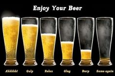 Enjoy your beer and when there is no more to be enjoyed...we'll fill you back up!  #DamnGoodBeer#MinhasCraftBrewery