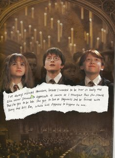 Oh how I wish I was Hermione!