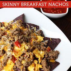 Skinny Breakfast Nachos