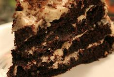 Black Forest Cake, so sweet, moist, and decadent!