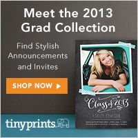 2013 Graduation Announcements from Tiny Prints!