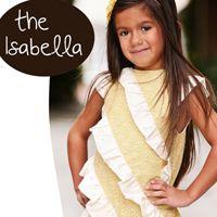 Isabella Dress 3m-8yr E-Pattern