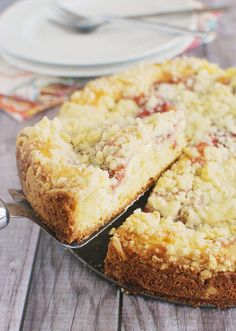 Strawberry Cream Cheese Coffee Cake by fakeginger, via Flickr