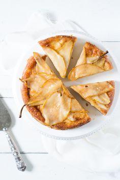 Pear Lemon  Vanilla Cake
