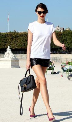 Miranda Kerr eternally chic.