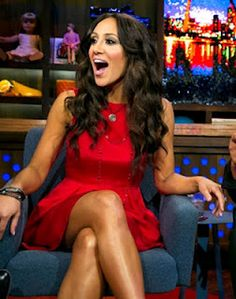 We love Melissa Gorga in this SIC Couture dress!