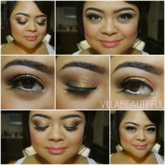 villabeauTIFFul - my makeup of the day & beauty galore: MOTD: Love In Florence Eat, Love, Be Fab Eye Shadow Palette