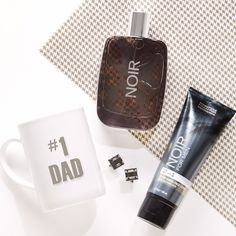 Noir is a classic ... just like Dad! #fathersday