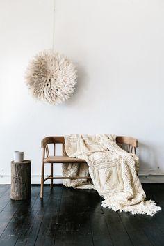Crema mano crochet throw - Shelter 7