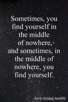 sometimes ...